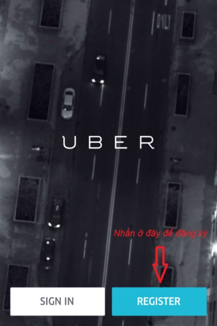 Cách đăng ký Uber